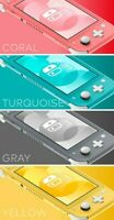 Nintendo Switch Lite - Gray, Yellow, Turquoise, Coral - Brand New - Fast Ship
