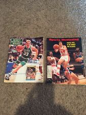 PISTOL PETE MARAVICH Sports Illustrated & Larry Bird Beckett Basketball Monthly