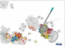 Schreibunterlage Papier Noris Colour small table 480 x 330 mm 30 Blatt , Mandala
