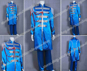 The Beatles Sgt Pepper Sir James Paul McCartney Blue Costume High Quality Great