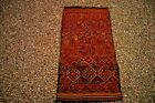 COLLECTORS' PIECE Antique Moroccan Sumac All Embroidered Kilim Christmas Gift