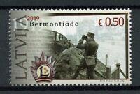 Latvia Stamps 2019 MNH Bermontiade Bermontiad 100 Years Military & War 1v Set