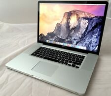 "Apple MacBook Pro 17"" Laptop 2.5GHz Quad Core i7 / 16GB Mem 1TB SSHD 1.5GB VRAM"