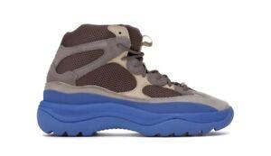 NIB Adidas Yeezy Desert Boot Taupe Blue - GY0374 - Size 8.5