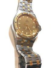 Beautiful OMEGA SEAMASTER 120m Quartz Calendar 1342 Swiss Men's Watch