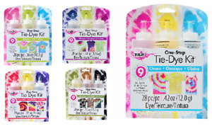 TULIP Tie Dye Kit: 3 Pack ~ Classic,Psychedelic,Vibrant,Brights,Moody Blues NEW