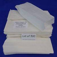 "Qty 500 Hot Dog Paper Bags Concession Machine supplies 3"" x 2"" x 8.75"""