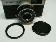NEW Olympus Trip 35 43.5mm to 46mm Filter Step Up Ring & Lens Cap