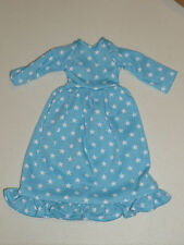 Blue Star Ruffle Nightgown Made to fit 14.5 Wellie Wishers Doll