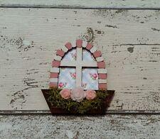 FAIRY DOOR ACCESSORIES WINDOW X 2 Pink