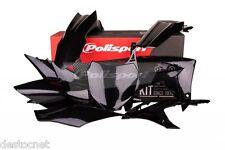 Kit plastiques Polisport  Couleur Noir Honda CRF 250 R  Année 2014-2015