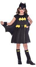 Girls Classic Bat Girl Batgirl Superhero Comic Book Day Fancy Dress Costume