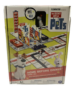 """The Secret Life of Pets Movie Game """"Home Before Dinner"""" Board Game New Sealed"""