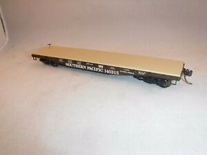 Intermountain HO Southern Pacific SP 42' Fishbelly Flat w-Wood Deck Blk #140315