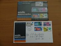 1969 NOTABLE ANNIVERSARIES  PRESENTATION PACK  +  F D C  IN VERY GOOD  CONDITION