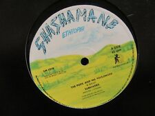 """SURVIVORS """"The Pope and His Followers"""" 12"""" Single - Shashamane Records SM 1018"""