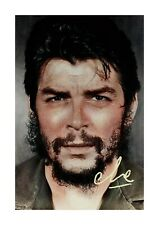 Che Guevara by Jecini A4 reproduction autograph poster choice of frame