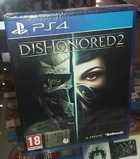 Dishonored 2 PS4 NUOVO SIGILLATO ITA