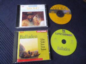2 CDs Lutz Görner spricht Balladen Gedichte & liest und singt SALOMO Hörbuch