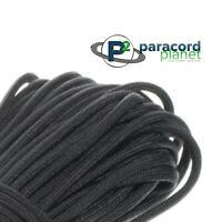 550 Survival Paracord 7 Strand armée militaire swat noir nylon made in USA 100 FT environ 30.48 m