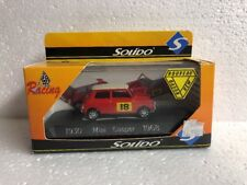 SOLIDO 1/43 Red MINI COOPER 1968 1930 excellent condition Made In France Racing