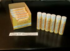 12 Lot BURT'S BEES COCONUT & PEAR Lip Balm EXP 2021-2022+! Display Included!