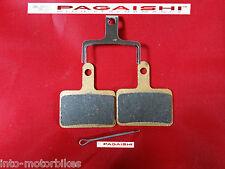 Sintered patins de frein pour Shimano Deore-M395 M446 M486 M475 M525 M575 cw pin