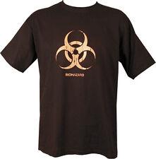 Military BIO BIOHAZARD T Shirt Black SAS PARA NEW