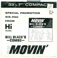 """Bill Black's Combo Movin' Special Promotion six-pac HI HSP-2 7"""" 33rpm 6 cuts"""