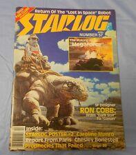 1982 STARLOG #57 Megaforce CAROLINE MUNROE Chelsey Bonestell VF-