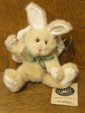 "Boyds Plush Ornaments #56241-12 Jill Hopkins, 5"" Angel Rabbit From Retail Store"