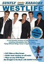 WESTLIFE SUNFLY KARAOKE MULTIPLEX DVD 12 HIT SONGS