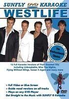 WESTLIFE SUNFLY KARAOKE MULTIPLEX DVD 12 HIT SONGS