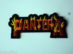 Pantera Sew or Iron On Patch