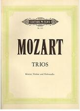 Mozart: Trii Per  Pianoforte, Violino e Violoncello -  Peters