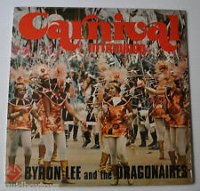 BYRON LEE and the DRAGONAIRES: Carnival in Trinidad LP Record Calypso NM