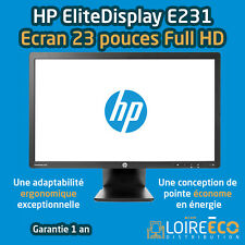 Ecran PC 23 pouces HP EliteDisplay E231 GARANTIE 1 AN