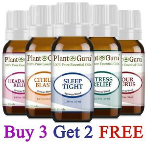 Essential Oil Blends 10 ml. 100% Pure Therapeutic Grade Oils For Skin, Diffuser