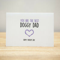 Greeting Card - Father's Day, Funny, You Are The Best Doggy Dad