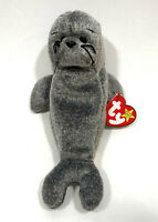 ty beanie baby slippery the Seal new/mint 5th gen hang tag (errors) y#4222