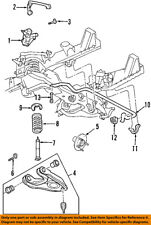 FORD OEM Lower Control Arm-Front-Adjust Cam 7L3Z3B236A