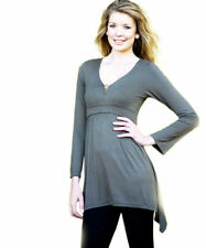 Long Sleeve Regular Size Maternity Tops & Blouses