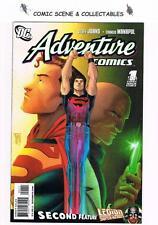 ADVENTURE COMICS  #1/504  {2009}   DC COMICS, GEOFF JOHNS
