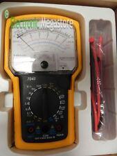 Tester multimetro analogico con buzzer guscio in gomma protezione LAFAYETTE 7040