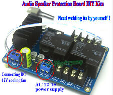 Audio Speaker Protection Board DIY Kits Dual Relay with Temperature Control