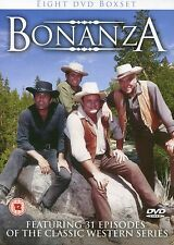BONANZA 8 DVD BOX SET - FEATURING 31 EPISODES OF THE CLASSIC WESTERN SERIES