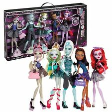 MONSTER HIGH 5 Pack DANCE CLASS Rochelle 'GIL' WEBBER Lagoona Rebecca Operetta