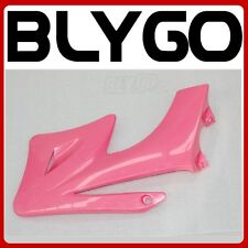 PINK Plastic Front RIGHT Tank Side Guard Fender APOLLO ORION 250 PIT Dirt Bike