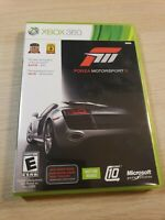 Xbox 360 Forza Motorsports 3 Platinum Hits Ultimate Game Complete 2 DISC Set