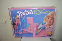 SALLE DE GYMNASTIQUE  POUPEE BARBIE MATTEL EN BOITE VINTAGE 1984 n° 7975 FITNESS